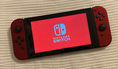 $ CDN291.10 • Buy Nintendo Switch (HAC-00) 32GB Console & Red Satin Joy‑Con's Only.....FREE S&H!!!