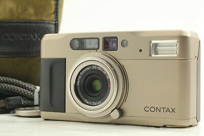 $ CDN417.67 • Buy [MINT W/ Case] CONTAX TVS 35mm Point & Shoot Compact Film Camera +Cap From JAPAN