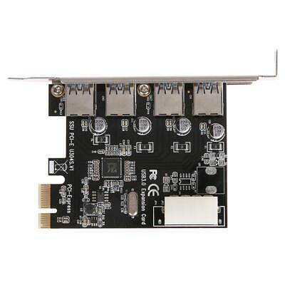 £8.67 • Buy USB3.0 Expansion Card 4 Port PCI-E To USB3.0 Computer Expansion Card UK