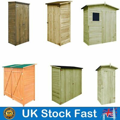 Wooden Garden Tool Storage Building With Door Shed Cupboard Lawn Mower Cabinet • 364.39£
