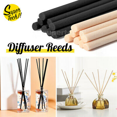 AU3.60 • Buy Diffuser Fiber Reeds Aromatherapy Oil Replacement Sticks Indoor Home Spa 3*220mm