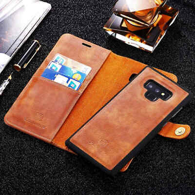 $ CDN30.36 • Buy Detachable Leather Wallet Magnetic Case For Samsung Galaxy Note 9 S9 Plus S8 A8