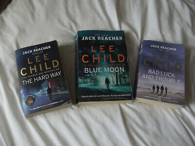 Collection Of Three Lee Child Books • 4.50£