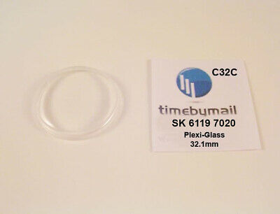 $ CDN26.44 • Buy New Watch Crystal For SEIKO 5 6119 7020 Automatic Plexi-Glass Spare Part C32C
