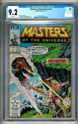 $59.99 • Buy Masters Of The Universe #8 (1987) CGC 9.2 White Pages  Carlin - Wilson - Morgan