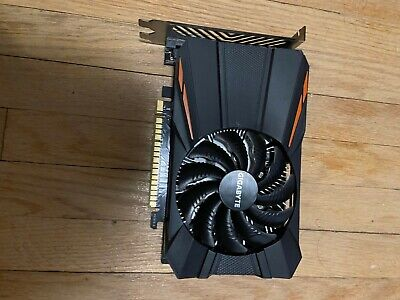 $ CDN100 • Buy GeForce GTX 1050 Ti, Used, One Fan, Quiet, 4GB, Gigabyte