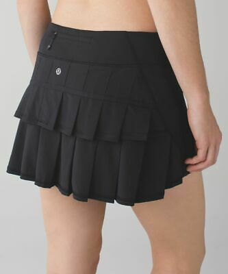 $ CDN46.93 • Buy Lululemon Black Pace Setter Skirt - Size 10