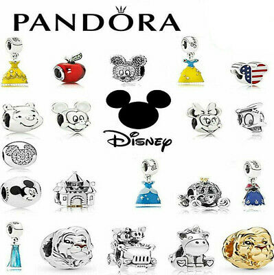 AU18.99 • Buy 2021 New Pandora Disney Authentic Sterling Silver ALE S925 Pure Charm + Gift Bag