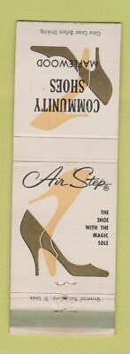 £2.90 • Buy Matchbook Cover - Community Shoes Maplewood Air Step WEAR