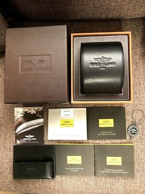 $ CDN112.37 • Buy Breitling Watch Box Case Booklet Genuine  Accessories Tag Black / 210303420
