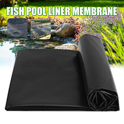 £8.99 • Buy UK HDPE Fish Pond Liners Strong Garden Pool Swell Liner Landscaping Reinforced