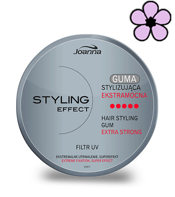£4.95 • Buy JOANNA STYLING EFFECT EXTRA STRONG HAIR GUM 100g EXTREME FIXATION SUPER EFFECT