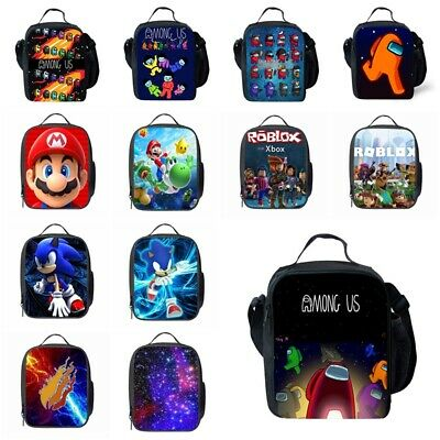 AU22.59 • Buy Kids Child Among Us Insulated Lunch Bag School Snack Box Travel Lunchbox Gifts
