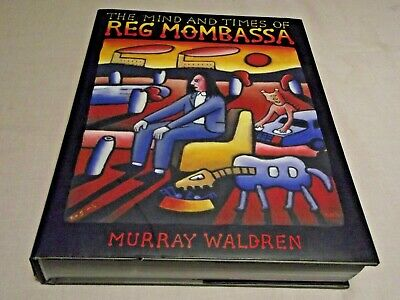 AU299.99 • Buy The Mind And Times Of Reg Mombassa Book - Murray Waldren Signed By Reg & Murray