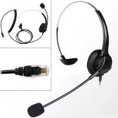 £11.79 • Buy Noise Cancelling Headphone Microphone Headset  Call Centre Office Telephone