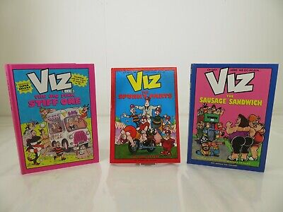 VIZ Annuals - 3 Book Bundle -  Hardback - Issues 19-25 & 32-42 - UnClipped • 19.99£