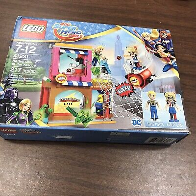 LEGO® DC Super Hero Girls™ Set 41231 Harley Quinn™ To The Rescue ~ • 10.85£