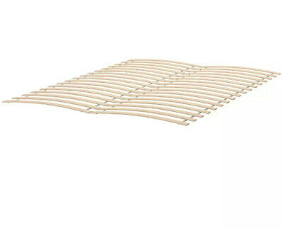 $ CDN88.80 • Buy IKEA LUROY Curved Slatted Bed Base Supports QUEEN Curved Comfort Frame Slats