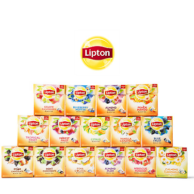 £5.49 • Buy Lipton Infusion Tea Bags - Choose Your Flavour - Try Pack Or Box With 20 Bags