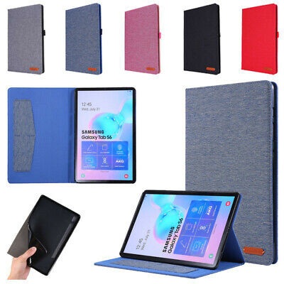 AU18.69 • Buy For Samsung Galaxy Tab S6 10.5  / S6 Lite 10.4  PU Leather Stand Flip Case Cover