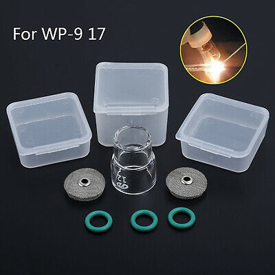 AU27.07 • Buy 6Pcs #12 Fupa Glass Pyrex Cup TIG Welding Tool Set For WP-9 WP-17 18 26 Gas Lens