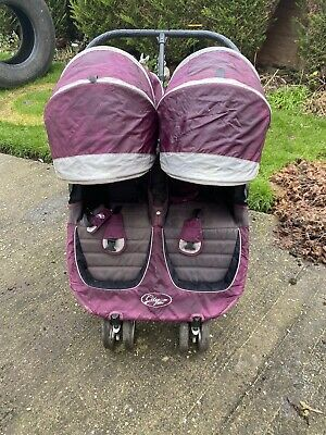 £120 • Buy Baby Jogger City Mini In Purple Double Pushchair