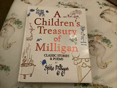 A Children's Treasury Of Milligan Stories&poems By Spike Milligan • 2£