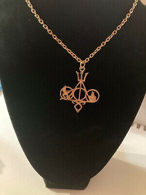 OPCC The Novel Classic Movie Necklace Mix The Mortal Instruments /Hunger Games • 3.26£
