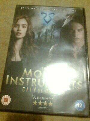 The Mortal Instruments City Of Bones DVD, Excellent Cond £1.75 Inc Postage • 1.75£