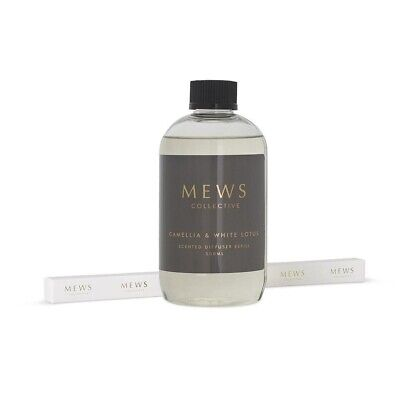AU31.99 • Buy Mews Reed Diffuser Refill 500ml Camellia And White Lotus