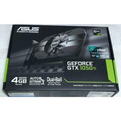 $ CDN295.61 • Buy ASUS Geforce GTX 1050 Ti 4GB Phoenix Fan Edition DVI-D HDMI DP 1.4 Gaming Card