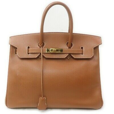 AU7072.49 • Buy Hermes Hand Bag Birkin35 Gold Kushbel 712235