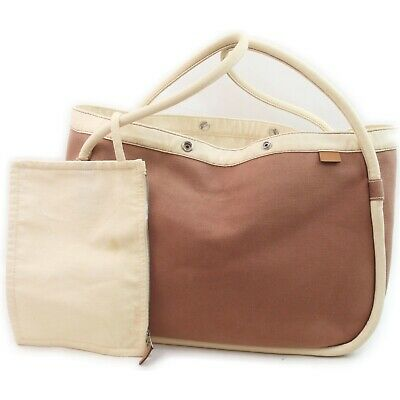 AU105.70 • Buy Hermes Tote Bag  Browns Canvas 1716459