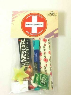 £2.59 • Buy Hangover Survival Kit - Hen Party Bags - Wedding Favors
