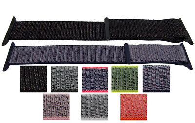 $ CDN28.20 • Buy Woven Fabric Style Watch Straps To Fit Apple IWatch