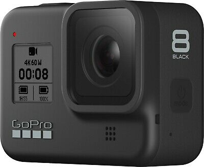 AU166.37 • Buy GoPro HERO 8 Black 4k Action Cam - BARELY USED!! COMES WITH STRAP 9.5/10