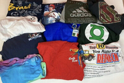 $ CDN25.36 • Buy Vintage To Now Reseller T Shirt Lot Of 11