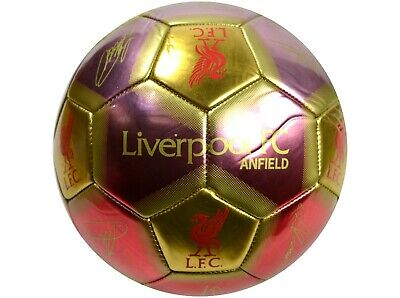 Liverpool FC Size 5 Signature Football - Official Merchandise  • 3£