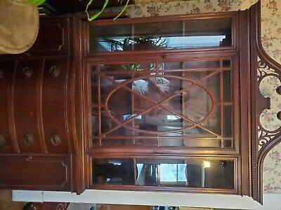 $1500 • Buy Beautiful Duncan Phyfe Style Dining Room Set - China Cabinet, Table, Buffet