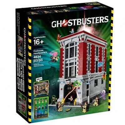 🟥 Ghostbusters Firehouse Headquarters 75827 Set Compatible With LEGO Kids Gift  • 57.88£