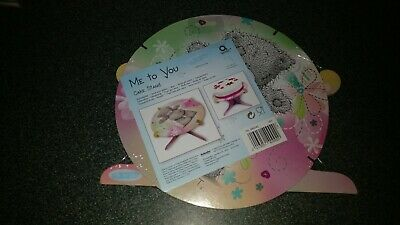 £2.50 • Buy Me To You Single Tier Cake Stand For Kids Birthday Party- Home Baking Cake Stand