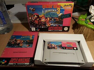 AU135 • Buy Donkey Kong Country 3 Complete Super Nintendo