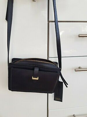$ CDN26.30 • Buy Ladies Genuine Leather  Handbags Across The Body Style Nwtgs Marks And Spencer