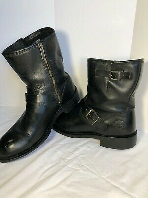 $ CDN75 • Buy Mens Harley Davidson Boot Black Leather Sz 10.5