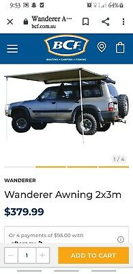 AU150 • Buy 4 Wd Accessories Wanderer Awnings
