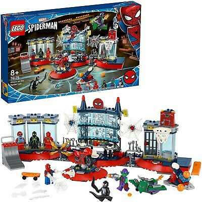 LEGO 76175 Marvel Spider-Man Attack On The Spider Lair Building Set With... • 27.10£