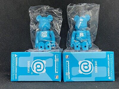 $19.99 • Buy Medicom BearBrick Be@rbrick 100% Series 41 Blind Box Lot Of 2 Basic Bear @ + R