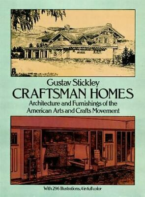 AU21.93 • Buy Dover Architecture Ser.: Craftsman Homes : Architecture And Furnishings Of...