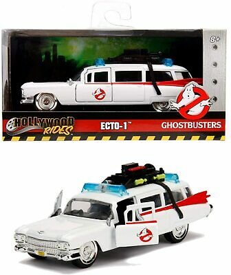 *** SEALED *** Genuine Jada Ghostbusters Car ECTO-1 Metal 1:32 Collection White • 17.99£