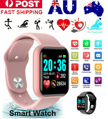 AU20.39 • Buy Women Men Waterproof Bluetooth Smart Watch Phone Mate For IPhone Android IOS AU